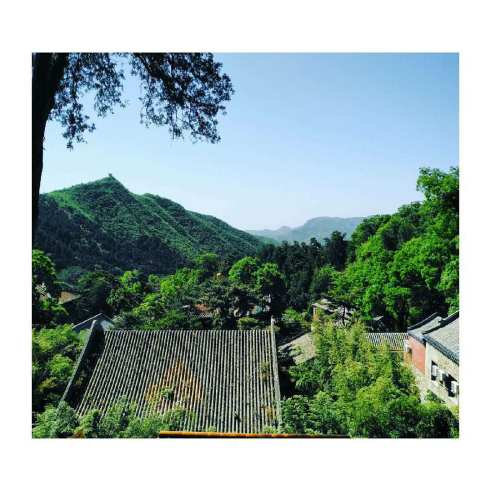 0. Travel into Writing (moutain temple)